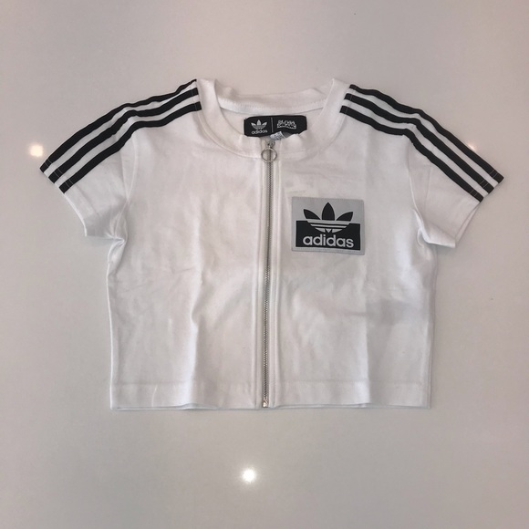 detailed pictures cheapest uk cheap sale Adidas x Olivia Oblanc shirt - XS
